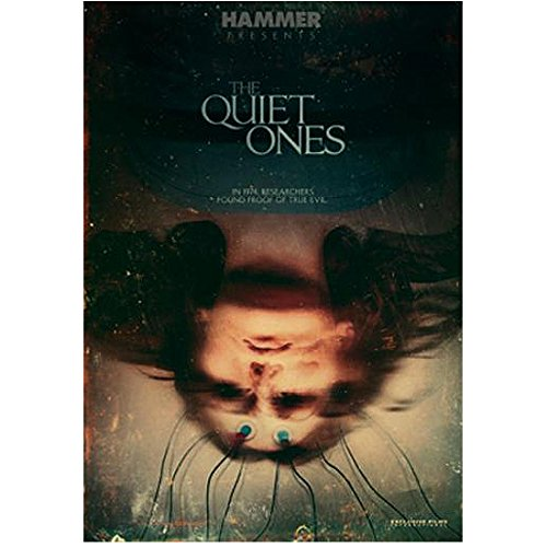 The Quiet Ones (2014) 8 inch x 10 inch Photo Olivia Cooke Upside Down w/Wire Leads on Forehead Title Poster kn