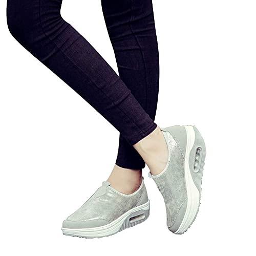 Amazon.com   Fitfulvan, Fashion Womens Shoes Platform Slip On Shoes Casual Flats Moccasins   Shoes