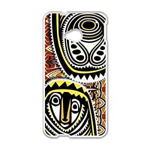 Greative Graffiti Pattern Custom Protective Hard Phone Cae For HTC One M7