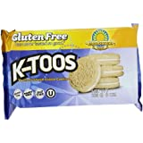 KinniToos Gluten Free Cookies, Vanilla Sandwich Creme, 8 Ounce (Pack of 6)