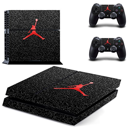 MagicSkin Vinyl Skin Sticker Cover Decal for Playstation 4 PS4 Console and Remote Controllers from MagicSkin