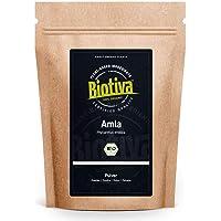 Amla Pulver Bio 250 g – Phyllanthus emblica – indisk taggbär – utan separationsmedel – utan fyllmedel – fylld och…