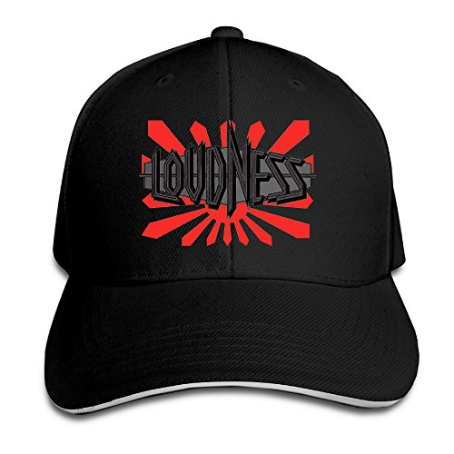Loudness Band Hurricane Eyes Metal Mad Sports Cap Sandwich Peaked Cap