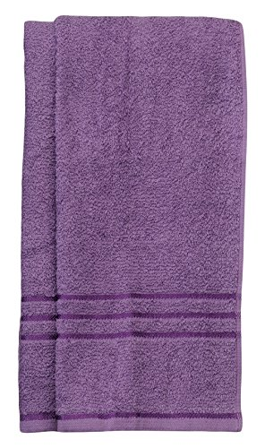 Trident Everyday Solid 2 Piece 380 GSM Cotton Hand Towel Set - Orchid Bloom