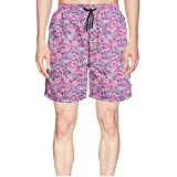 Elxie06 Red Sunflowers Delivery Mens Quick Dry Lightweight Beach Shorts with Drawstring
