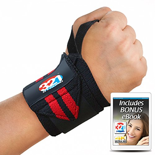 321 STRONG Wrist Wraps Inches