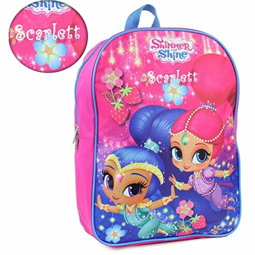 Personalized Shimmer & Shine Backpack - 15 Inch (Pack Shine)