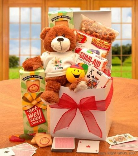 [A Touch of Get Well Soon Sunshine Care Package] (Get Well Cookies)