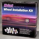 McGard 84554 Chrome Cone Seat Wheel Installation Kit (M12 x 1.25 Thread Size) - For 5 Lug Wheels