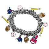 Game Time 101410 MLB Cleveland Indians Stretch Bracelet