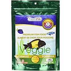 Northfin Food Veggie Formula 1mm Pellet 250 Gram Package