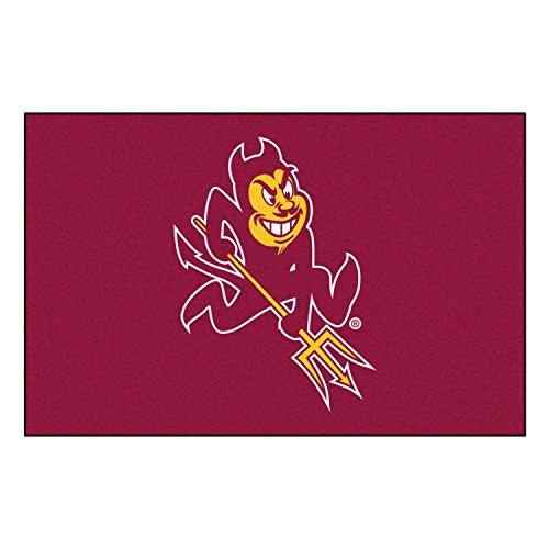 Arizona State Sun Devils Rug - FANMATS NCAA Arizona State University Sun Devils Nylon Face Starter Rug