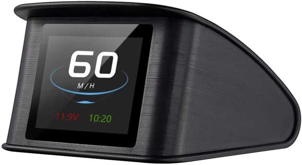Head Up Display Car Powcan Auto Hud Display 2 2 Inch Head Up Display Speed Meter Auto Kph Mph Digital Gps Smart Speedometer With Speeding Alarm Voltmeter Warning Auto