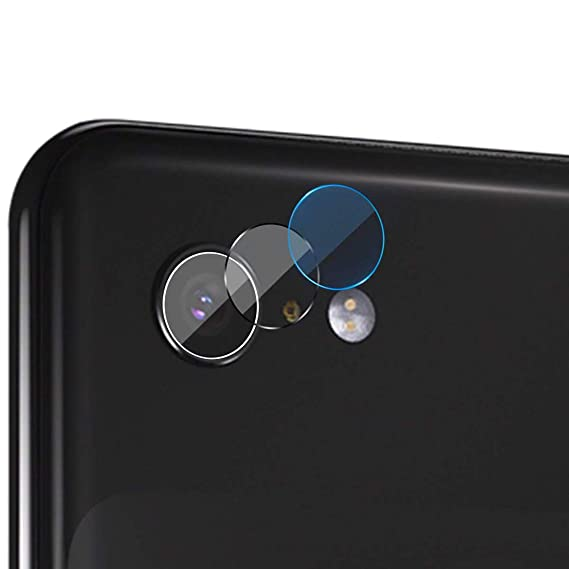for Google Pixel 3XL Back Camera Lens Screen Protector – [2 Pack] Ultra  High Clear Tempered Glass Back Camera Lens Screen Protector Film for Google
