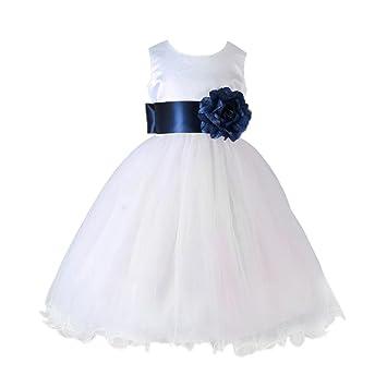 Vestido de niña de flores Formal niña de las flores niño bautizo boda vestido de dama