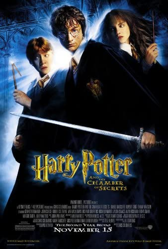 Amazon.com: HARRY POTTER AND THE CHAMBER OF SECRETS MOVIE POSTER 2 ...