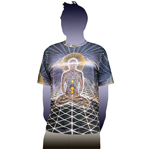 Theologue Visionary Art Alex Grey T-Shirt | Crystal Tara - CT71-38 (Medium)