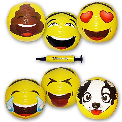 Emoji Inflatable Beach Ball 18