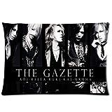 HipsterOne Unique The Gazette 2013 Jrock Pillowcase Custom Zip Throw Pillow Case Cover (Standard 20x30 inch) Sam-19-67