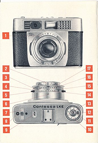 Zeiss Ikon Contessa LKE 10 0638 original instruction manual