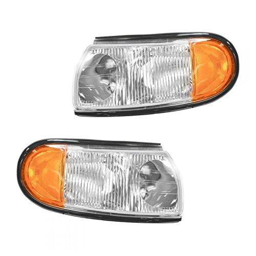 - Marker Signal Blinker Indicator Corner Parking Light Pair Set for 96-98 Villager