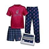 adidas Boy's Cleveland Indians 3-pc. Pajama Set (M 10/12)