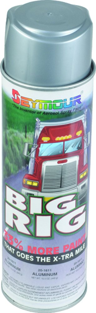 Seymour 20-1611 Big Rig Professional Coatings Spray Paint, Aluminum