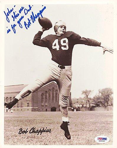 Bob-Chappuis-Signed-8x10-Photograph-Michigan-Wolverines-To-John-PSADNA-Authentication-NBA-Basketball-Photos
