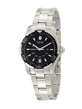 5d1525177f Victorinox Swiss Army Women's 241305 Alliance Sport Lady Black Dial Watch
