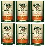 FELINE GREENIES 6-Pack Feline Smart Bites Treat, Chicken, 2.1-Ounce