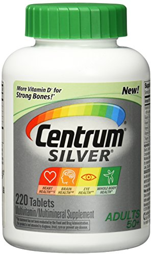 Centrum Silver Tablet Adult 220 ct (3 Pack)
