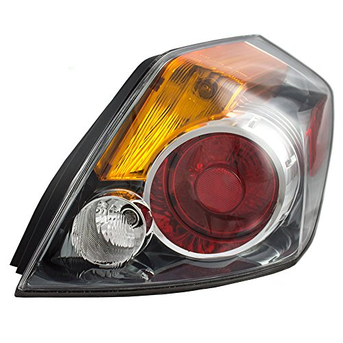 Taillight Tail Lamp Lens Passenger Replacement for 07-12 Nissan Altima Sedan 26550ZN50A