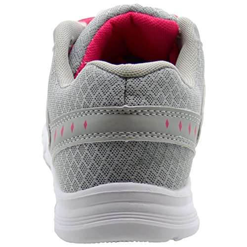 Annabelle New Ladies Comfy Summer Trainers Women Gym Running Sports Mesh Northwest Territory Shoes Light Weight Fitness Light Grey 0criv5U8