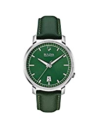 Bulova Men's Accutron II 96B215 Green Leather Quartz Watch