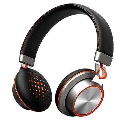 GAOWORD Auriculares Bluetooth, Auriculares Inalámbricos Estéreo Deportivos Sobre La Oreja con Cancelación Activa De Ruido