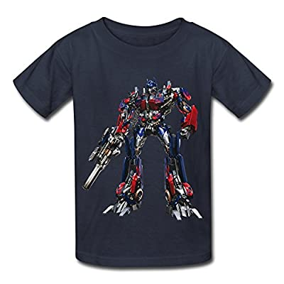Kid's Vintage Transformers Optimus Prime T-shirts By Mjensen