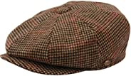 Men's Classic 8 Panel Wool Blend Newsboy Snap Brim Collection