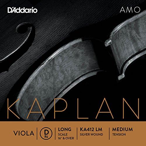 D'Addario KA412 LM Kaplan Amo Viola D String by D'Addario Woodwinds