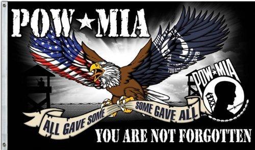 POW-MIA, YOU ARE NOT FORGOTTEN 3'x5' Flag