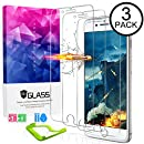 [3packs] Ultra Clear iPhone 8plus Screen Protector Tempered Glass, HDTOP Scratch Proof iPhone 7 plus Screen Protector,High Definition Tempered Glass for iPhone 8plus/7plus