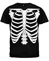 Halloween Skeleton Glow In The Dark Costume T-Shirt
