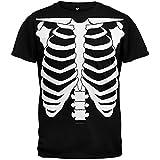 Halloween Skeleton Glow In The Dark Costume T-Shirt - X-Large