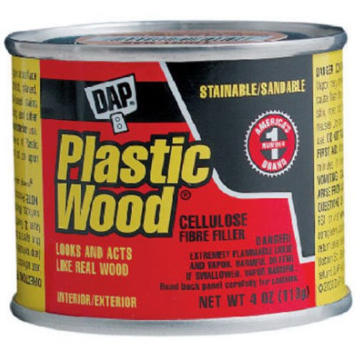Dap 21408 Golden Oak Wood Dough Filler, 1/4-Pound (Oak Plastic Wood)
