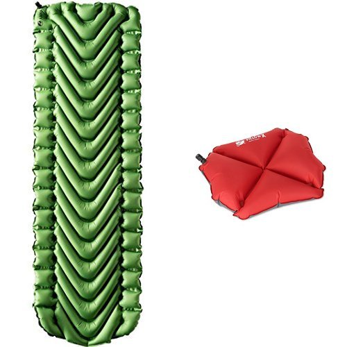 Affordable Pad and Pillow Bundle with Sleeping Pad and Pillow