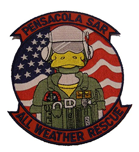 NAS PENSACOLA SAR ALL WEATHER RESCUE PATCH MEDIUM - Color - Veteran Owned Business. (Pensacola Stores)