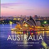 Australia 7 x 7 Mini Wall Calendar 2020: 16 Month Calendar