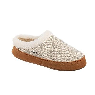 Amazon.com | Acorn Womens Mule Ragg Warm Slipper | Slippers