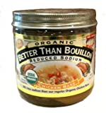 Better Than Bouillon Organic Chicken Base, Reduced Sodium - 16 oz (Pack of 6)