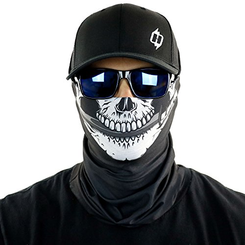 Hoo-Rag Awesome Pirate Skull Bandanna Rock It As A Facemask Too for $<!--$15.95-->