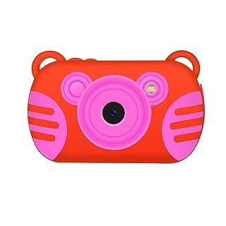 Topker Macchina Fotografica Digitale Bambini K6 Giochi di Puzzle da 2,7 Pollici della Fotocamera Impermeabile del Fumetto anticaduta Bambini HD